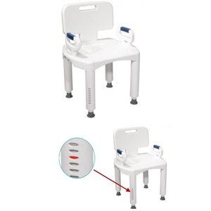 Chaise de bain: Ajustable