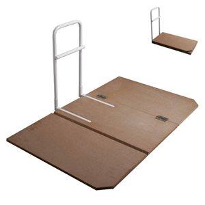 Barre de lit: Planche de Lit Pliante (avec barre d'appuis)