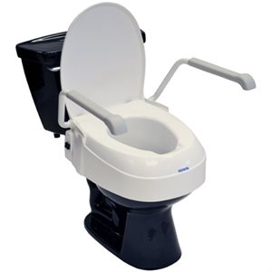 """Toilet Seat: 2"""", 4"""", 6"""" Raise (with armrests)"""