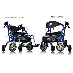 Fauteuil de Transport et Déambulateur: Fusion