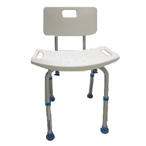 Bath and Shower Chair: Adjustable