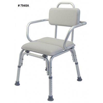 Bath and Shower Chair: Padded
