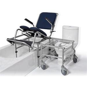 Chaise de bain et transfert: Bascule