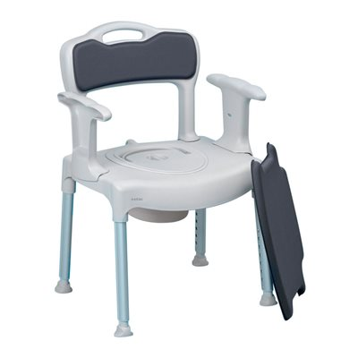 Bath & Commode Chair: Swift
