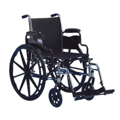 Wheelchair: Tracer SX5 - Fixed Long Armrests that Rock Backwards